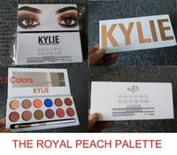 The newest kylie Jenner 12 Color Royal Peach Palette Eyeshad...