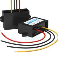 Convertidores de voltaje de bujías DCMWX® 36V48V transformadores de potencia para automóviles de bajada de 12V Entrada DC30V-58V Salida 12V 1A2A3A4A5A6A7A8A