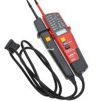 Авто диапазон напряжения Измеритель непрерывности тестер ЖК-дисплей / LED индикация даты удержания УЗО тест нет детектора обнаружения батареи