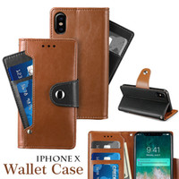 Customized Wallet Case PU Leather Flip Cover Case for iPhone...