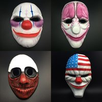 Scary Halloween Faces Accesories Funny Toys Dance Party Mask...