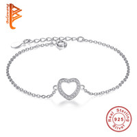BELAWANG Authentic 925 Sterling Silver Cubic Zircon Bracelet...
