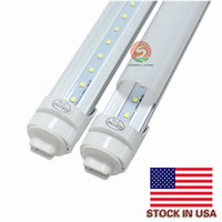 T8 LED Işık Tüp, 8ft, R17d Dönebilir Tabanı (F96T12 / CW / HO Değiştirme), 8 Ayak LED Dükkanı Işık Armatür, 6000K, 45W, 4800LM 20-pack