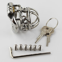 Latest Design Male Chastity Devices with Removable Sharp Scr...