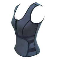 Atacado-S - 5XL mulheres suor melhorar cintura espartilho instrutor de cintura sauna terno sexy colete shaper corpo suor Shapewear E95