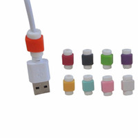 1000PCS / الكثير USB بيانات شاحن كابل سيليكون التوقف حامي سماعة حماية سماعة سلك الحبل لحماية اي فون برو 11 ماكس XR X 8 7