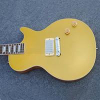 مصنع oem متجر الغيتار ، لون الذهب البريق القيثارات الكهربائية القياسية ، حرية الملاحة