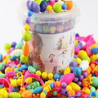 165Pcs DIY Threading Beads Snap Together Handmade Necklace B...