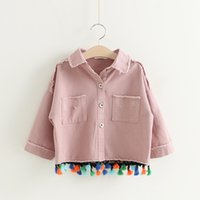 Everweekend Girls Vintage Tassels Denim Jackets Outwears Cla...