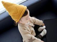 Sombreros de niños y niñas de otoño e invierno. Gorro de cuello alto para niños. Sombrero cálido. Corona tejida. Envío sin sombrero.
