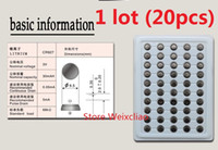 20pcs 1 lot CR927 3V lithium li ion button cell battery CR 927 3 Volt li-ion coin batteries tray package Free Shipping