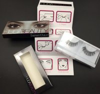 Carmen Beauty Falsche Wimpern Candy HUDA3EA Extensions Handmade Lashes Gefälschte Wimpern für Wimpern Jessica Makeup Beauty Eyelashes 20color