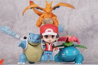 Trainer Red Champion Ver. Charizard PVC Figure Set In Box #4...