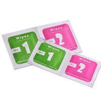 Groothandel reinigingsgereedschap Natdrogy 2 in 1 Wipe Dust-Absorber Guide Sticker voor gehard Glas Screen Protector