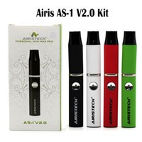 Airistech AS-1 Kit V2.0 E Kits de cigarettes Cire Pen Wax Vaporisateur Pen Micro USB Port de chargement Airistech Vaporizer