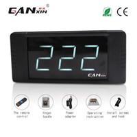 """[GANXIN] Contatore giro cifre da 1 """"LED semi-esterno LED secondi digitali Conto alla rovescia / Timer accensione Telecomando IR"""