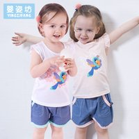 Yingzifang 2017 Summer Girls Baby Clothing Sets Casual Cotto...
