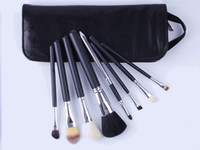 8 Pieces Makeup Brush Set Professional Powder Blusher Eye Sh...