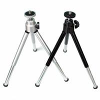 Universal Portable Mini Dreh Flexible Stativ Halterung Ständer Halter Kamera Zubehör Adapter Telefon Zubehör für iphone 7 6 Samsung HTC