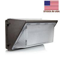 UL DLC approva l'esterno LED PACK PACCHETTO LIGHT 100W 120W Montaggio a parete industriale LED illuminazione illuminazione daylights 5000K AC 90-277 V con autista medio bene