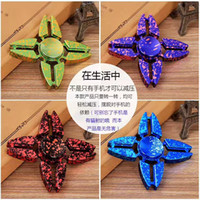 colorful Fidget Spinner EDC Hand Spinner Triangle Fidget Foc...