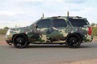 Grand vinyle de camo vert militaire pour enveloppe de voiture avec dégagement de l'air / bouilloire d'air Camoufalge sans camouft pour camion Revêtement graphique 1,52x30m (5x98ft)