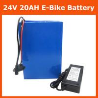 Batteria ricaricabile 24 V Batteria 24V Batteria elettrica Batteria al litio 24V 20AH con custodia in PVC Caricabatterie 30A BMS 29,4V 3A Nessuna tassa
