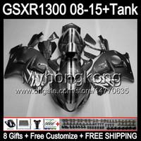 8Gifts for Suzuki Gloss Silver Hayabusa GSXR1300 2009 2009 2010 2011 14MY203 GSXR-1300 GSX R1300 GSXR-1300 2013 2013 2014 2015 carenatura grigia