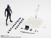 S. H. Figuarts SHF Bandai Body Kun DX SET (Black Color Ver. ) A...