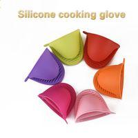 Forno Mitt Miticone Mini Pot Brown Cozinha Não-Deslize Microondas Assistência Térmica Cozinhar Pinchch Grip Protector Glove 1 Pcs 122249
