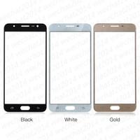 Haut remplacement de lentille en verre avec écran tactile avant qaulity pour Samsung Galaxy J5 Prime G570 DHL