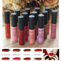 12color / set Fuller Lips Liquid Lipstick Waterproof Ny Lipsticks Makeup Baton Mate Sexy Gloss Длительные косметические губы
