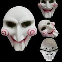 Unisex sah Marionette Maske Horror Scary für Halloween Cosplay Kostüm Clown Puppe Spaß