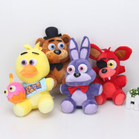 FNAF Five Nights at Freddy Bear Rabbit Bonnie Fox Duck Stuff...