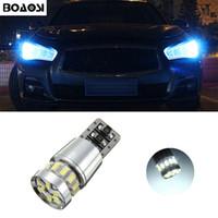 BOAOSI T10 3014SMD LED Standlichter Seitenlicht kein Fehler für Infiniti Q50 Q60 Q70 Q80 QX30 QX50 QX56 QX60 QX80 QX80 G25 G35 G37
