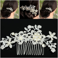 Hot sale Fashion Bridal Wedding Tiaras Stunning Fine Comb Br...