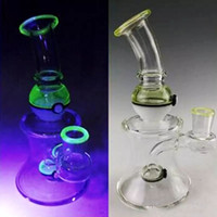 Oil Rig Dab Glass Bongs Uv Glass Material Smoking Bongs Beak...