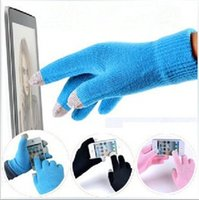 Fashion Christmas Winter warm touch glove Cotton capacitive ...