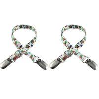 Kopfbekleidung Napkin Holder Dental Lab Bib Crocodile Clip Flexible Metal Ball Chain  XJ
