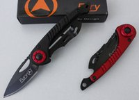 3 Colors Fury 327 Small Pocket Folding Knife 440C 56HRC Alum...