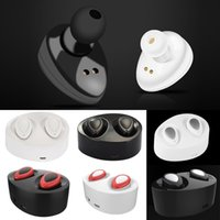 2017 nuovo arrivo Mini Twins auricolari True TWS k2 Bluetooth senza fili portatile in auricolari auricolare in-ear wireless per Iphone 7 Samsung S8