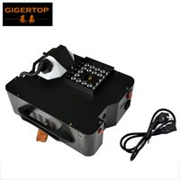 Высокое качество 1500W DMX LED Fog машина Pyro Vertical дыма машина с дистанционным управлением / Professional Fogger 24x3W RGB 3в1 Цвет