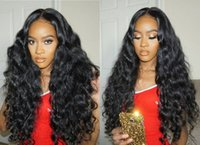 Fast Delivery Brazilian 100% Remy Virgin human hair #1B Loos...