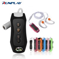 Wholesale-RUNPLAY Top-Qualität 8GB MP3-Musik-Player Wasserdichtes FM-Radio Unterwasserschwimmen Tauchen Digital Neuer MP3-Player