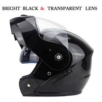 Wholesale- NEW ARRIVE DOT Flip Up Motorcycle helmet motocicl...