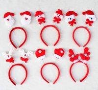 Hair Band Hot Christmas Gift Ribbon Hair Accessory Decoratio...