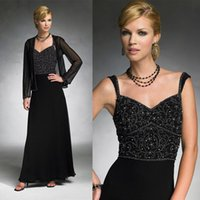 Beaded Applique Mother Of The Bride Dresses Scalloped Neck S...