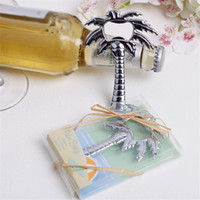 "Free Shipping 100PCS "" Palm Breeze"" Palm Tree Bottl..."