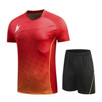 New Lin Badminton Wear Set, Frauen / Männer Badminton Kleidung 6027