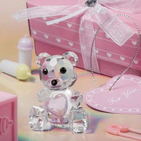 (100pcs lot)Baby Birthday Party Giveaway Souvenir K9 Crystal...